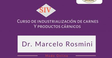 SIV: Curso de industrialización de carnes y productos cárnicos
