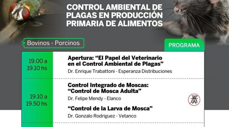 #Capacitarnos: «Control ambiental de plagas en producción primaria de alimentos