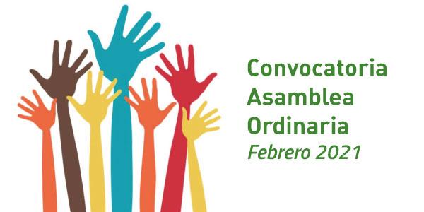 Convocatoria Asamblea Ordinaria- Febrero 2021