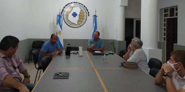 Primera reunión del nuevo ciclo con presidentes de Seccionales de nuestro Colegio