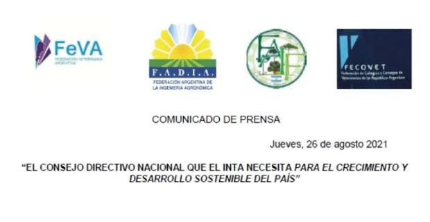 Por un Consejo Directivo Nacional del INTA representativo